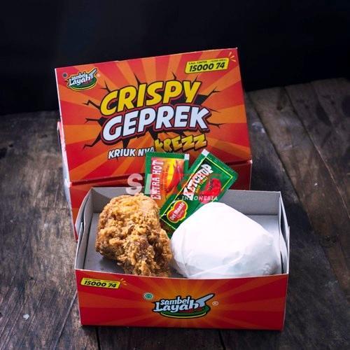 paket ayam crispy