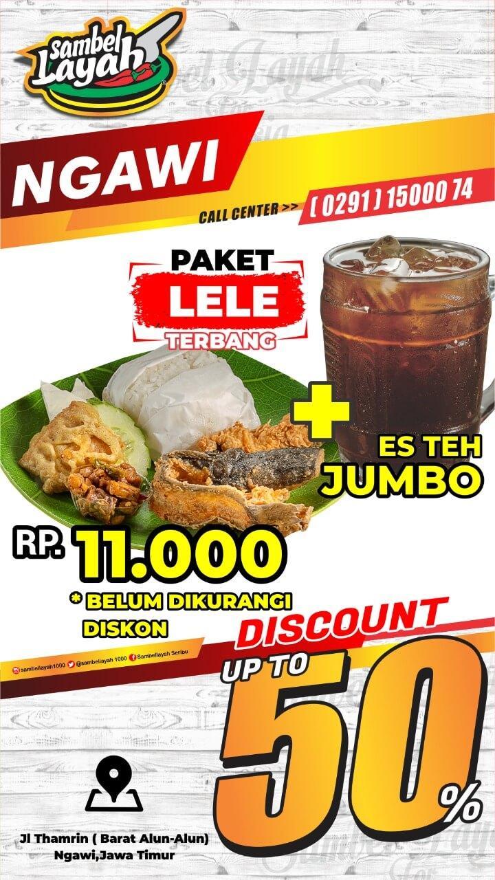 menu sambel layah ngawi